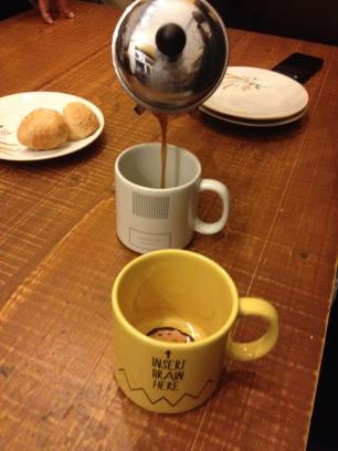 Café muito bom, independente do método de preparo!